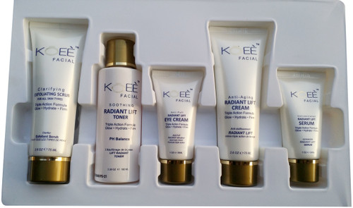 Koee Radiant LIft Facial Kit buy online best facial kits in pakistan