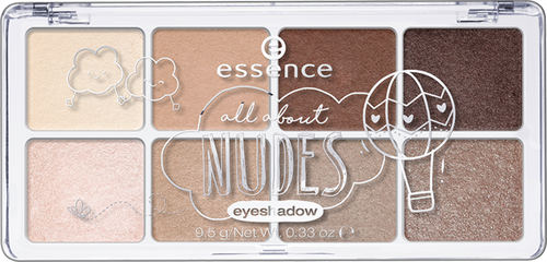 Essence All About Eyeshadow Palettes 02 Nudes shop online in pakistan