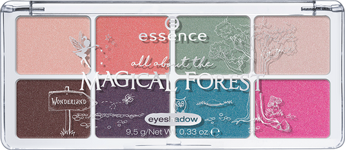 Essence All About Eyeshadow Palettes 07 Magical Forest shop online in pakistan