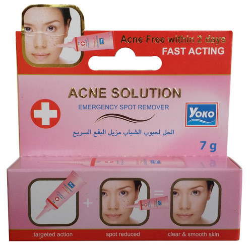 Yoko Acne Solution Fast Acting 7g shop online in pakistan