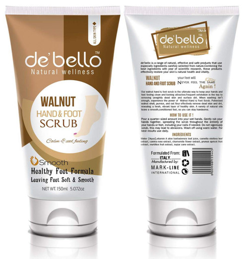 De'Bello Walnut Hand & Foot Scrub 150 ML shop online in pakistan