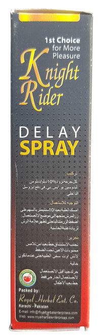 Knight Rider Delay Spray Maximum Long Duration best Spray