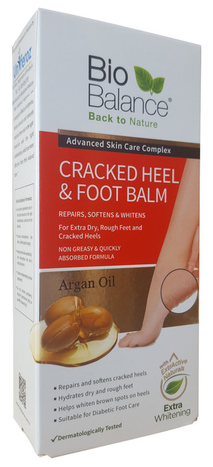 Bio Balance Argan Oil Cracked Heel & Foot Balm 60ML shop online in pakistan