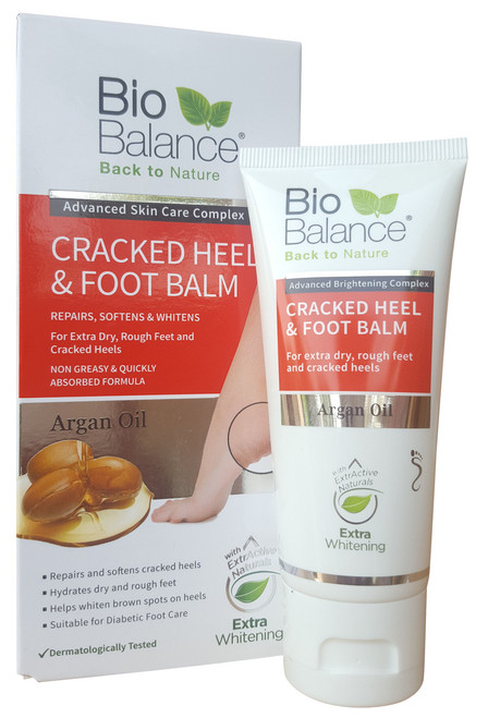 Bio Balance Argan Oil Cracked Heel & Foot Balm 60ML shop online in pakistan best heel balm
