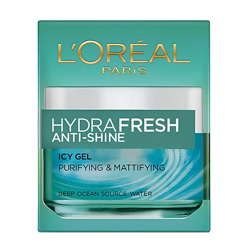 L'Oreal Paris Hydrafresh Anti-Shine Icy Gel 50ml