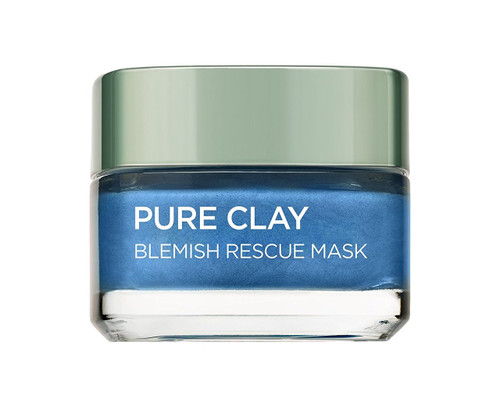 L'Oreal Paris Pure Clay Marine Algae Mask - Anti-Blemish Blue 50ml best mask in pakistan