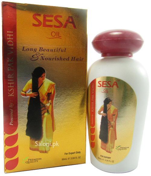 Sesa Oil Long Beautiful & Nourished Hair Front