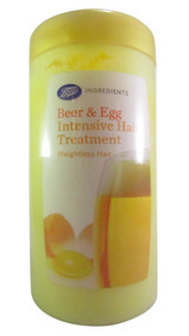 Boots Beer & Egg Intensive Hair Treatment 400 ML