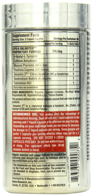 Nutrex Research LIPO 6 UNLIMITED