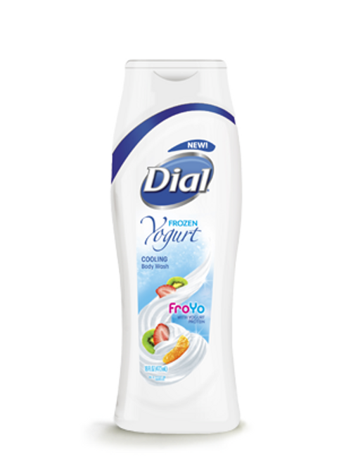 Dial Frozen Yogurt FroYo with Yogurt Proteins Cooling Body Wash 473 ML