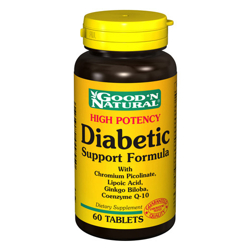 Good N Natural High Potency Diabetic Support Formula (60 Tablet)