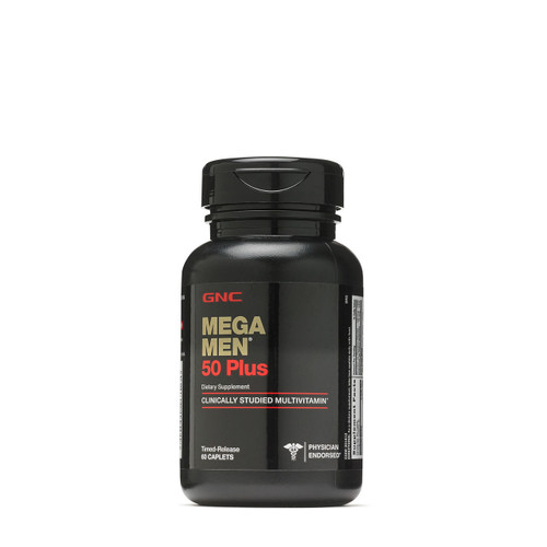 GNC Mega Men 50 Plus 60 Caplets  Buy online in Pakistan