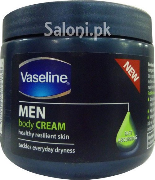 Vaseline Men Body Cream Fast Absorbing
