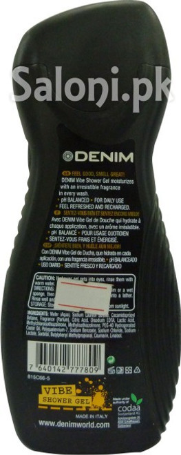 Denim Vibe Shower Gel 250 ML