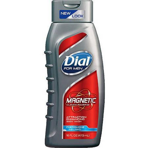 Dial For Men Magnetic Clean Rinsing Attraction Body Wash 450 ML