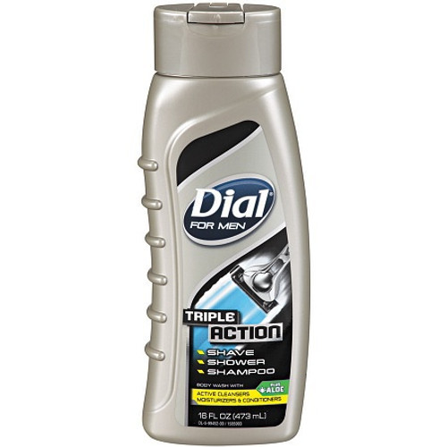 Dial For Men Triple Action Body Wash 473 ML