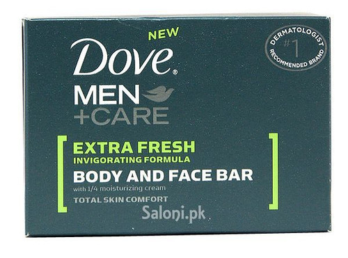 Dove Men + Care Extra Fresh Body and Face Bar
