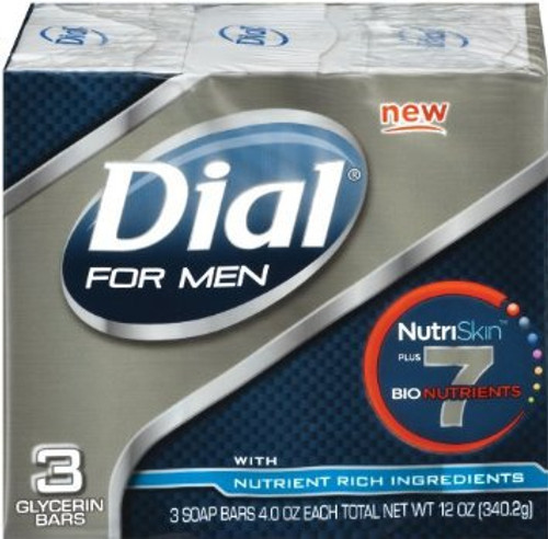 Dial For Men Nutriskin Bar Original Soap (3 Count)
