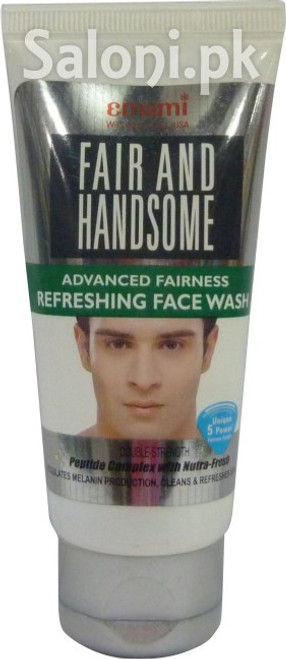 Emami Fair and Handsome Advanced Fairness Refreshing Face Wash 50 Grams