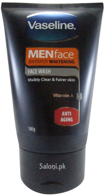 Vaseline Menface Antispot Whitening Face Wash Anti Aging