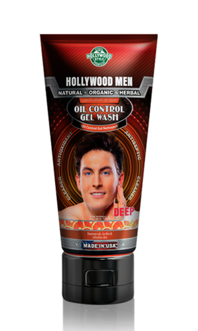 Hollywood Men Oil Control Gel Wash 150 ML