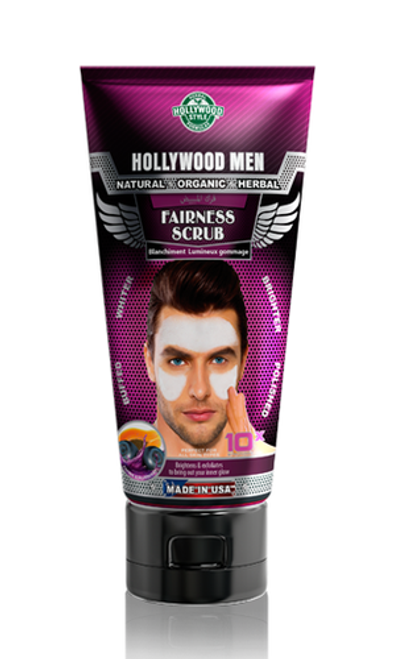 Hollywood Men Fairness Scrub 150 ML