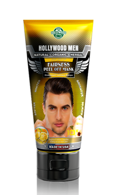 Hollywood Men Fairness Peel Off Mask 150 ML