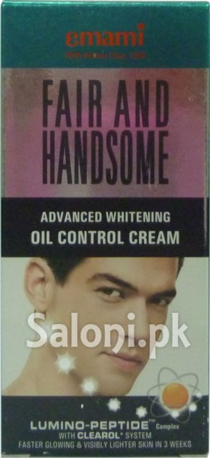Emami Fair and Handsome Advanced Whitening Oil Control Cream best price