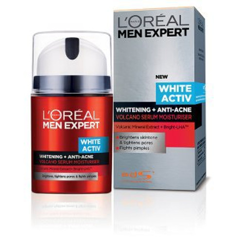 L'oreal Paris Men Expert White Active + Whitening Anti Acne