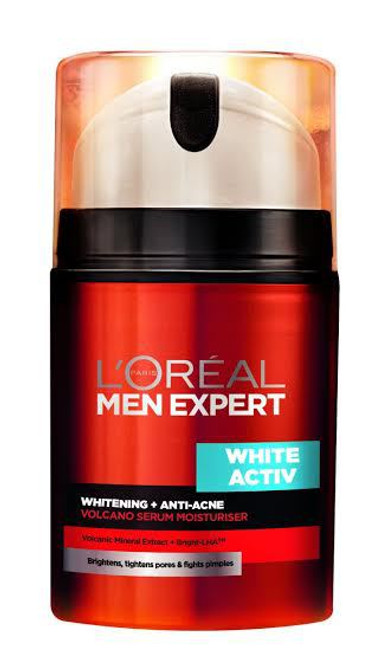 L'oreal Paris Men Expert White Active + Whitening Anti Acne100 ML