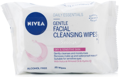 Nivea Gentle Facial Cleansing Wipes 25 Wipes