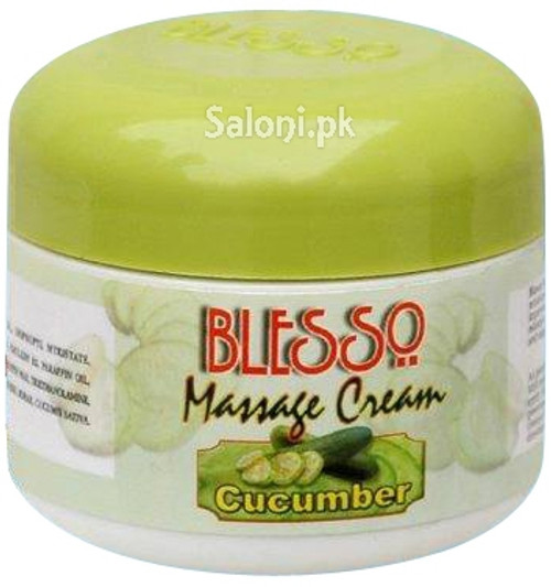 Blesso Massage Cream With Cucumber