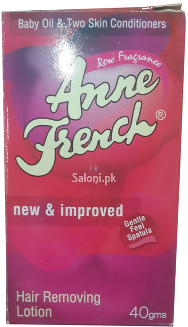 Anne French Rose Fragrance Hair Removing Lotion