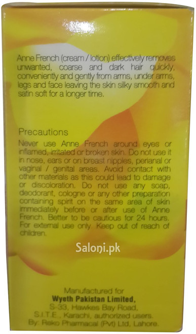 Anne French Lemon Fragrance Hair Removing Lotion