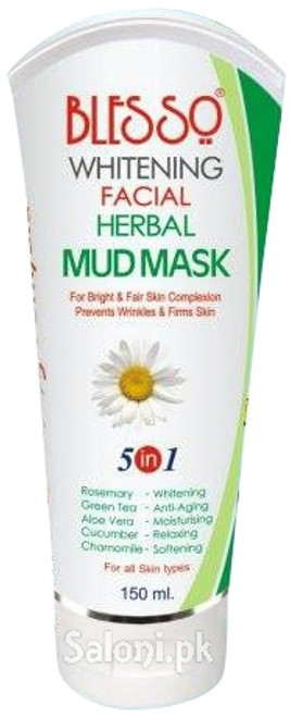 Blesso Whitening Facial Herbal Mud Mask