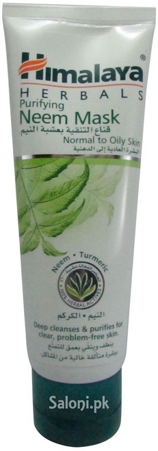 Himalaya Herbals Purifying Neem Mask for Normal to Oily Skin