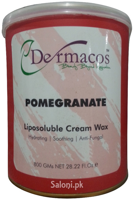 Dermacos Pomegranate Liposoluble Cream Wax Front