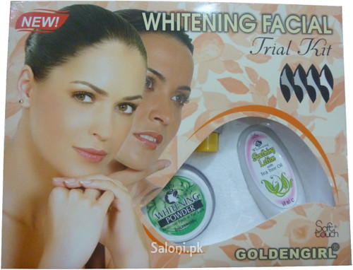 Golden Girl Soft Touch Whitening Facial Trial Kit Front