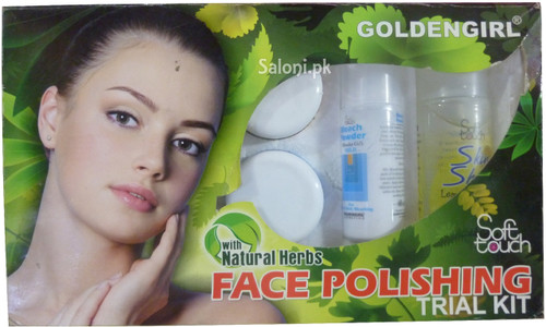 Golden Girl Soft Touch Face Polishing Trial Kit with Natural Herbs