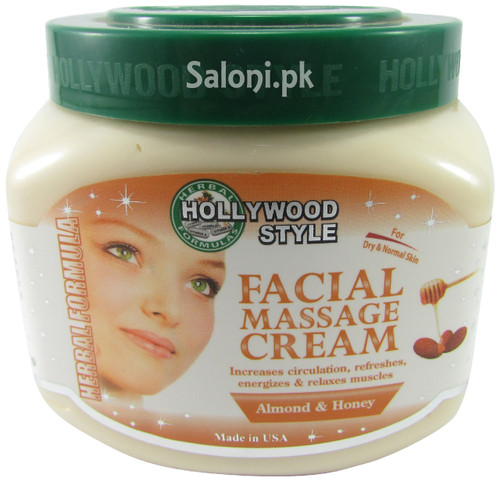 Hollywood Style Facial Massage Cream