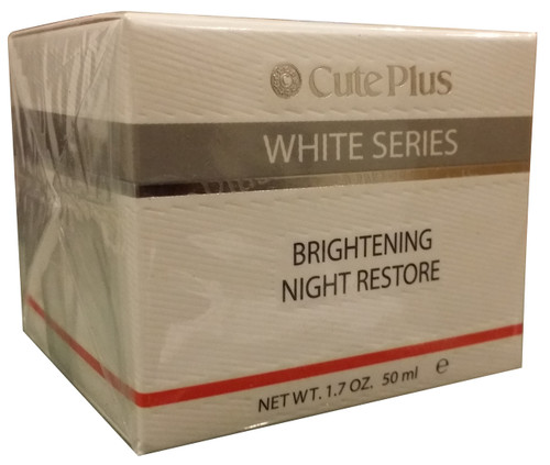 Cute Plus White Series Brightening Night Restore 50 ML  shop online in Pakistan