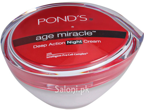 Pond's Age Miracle Deep Action Night Cream 50 Grams