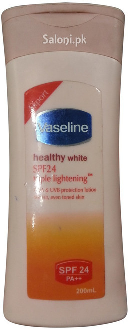 Vaseline Healthy White SPF 24 Triple Lightening Lotion 200 ML
