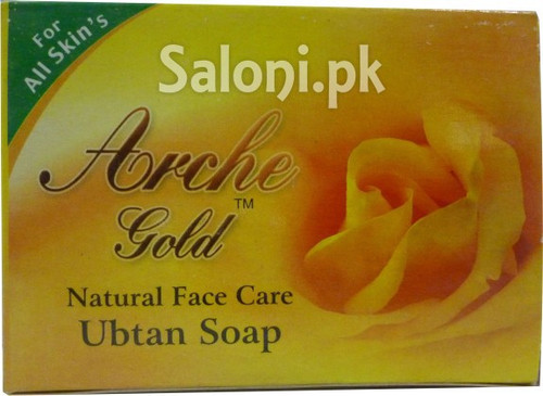 Arche Gold Natural Face Care Ubtan Soap