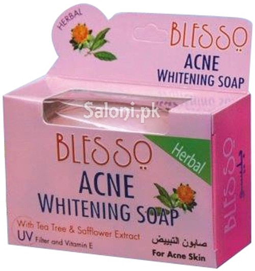 Blesso Herbal Acne Whitening Soap