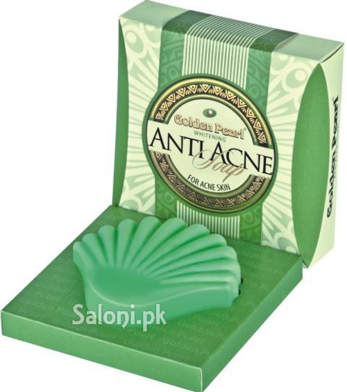 Golden Pearl Whitening Anti Acne Soap