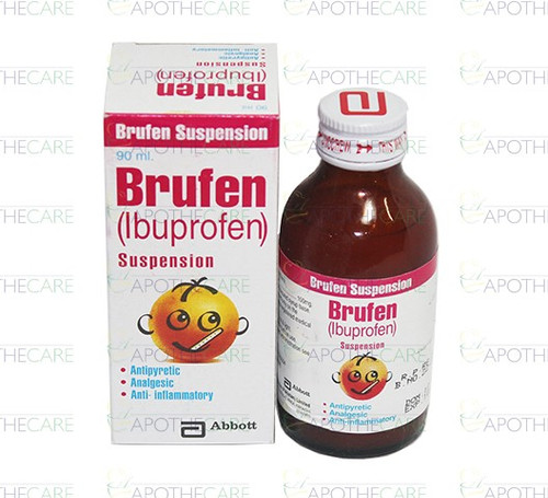 Brufen (Ibuprofen) DS Suspension 100MG/5ML 90 ML
