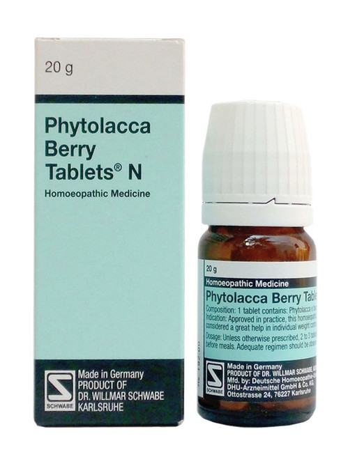 Schwabe Phytolacca Berry 80 Tablets