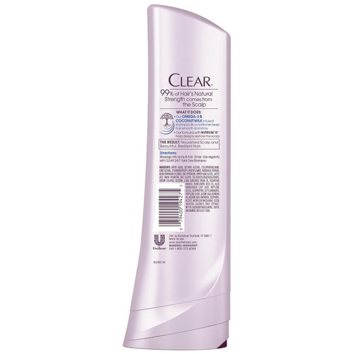 Clear 24/7 Total Care Conditioner (Back)