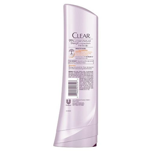 Clear Extreme Damage Relief Conditioner (Back)